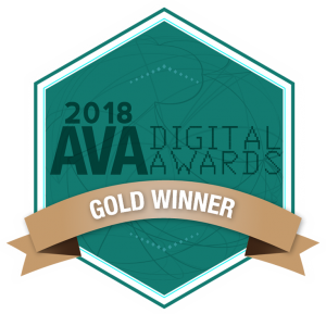 AVA Digital Awards 2018 Gold