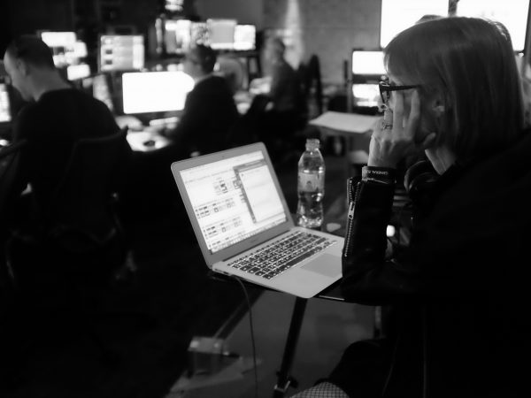 Photo showing Emma Hoskyns, ITV producer behind the Royal Wedding 2018, in Caroline Gibson's blog on what creativity means to her