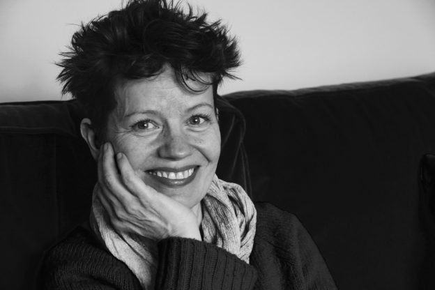 A photo of Sally Cookson, theatre director, in Caroline Gibson's freelance copywriter blog on what creativity means to her - as Sally's latest productions launches: A Monster Calls at The Old Vic
