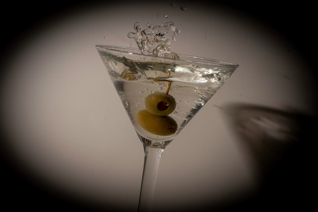 Photo of a Martini cocktail for Caroline Gibson's blog about the language of cocktails