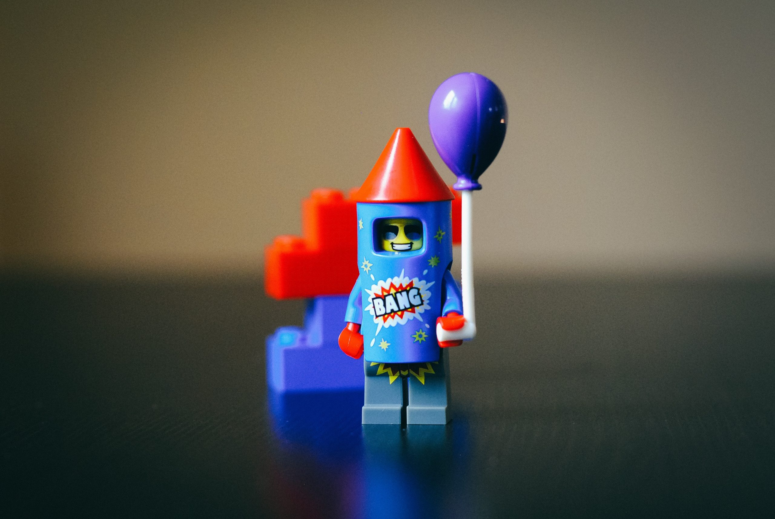 A Lego rocket as an image of boosting social media activity in Caroline Gibson's blog