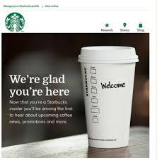 Starbucks email showing importance of using 'you' in copy in How to write emails in a personal and friendly way