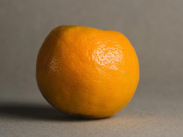 A photo of the orange symbolising how the brand name 'Orange' came about